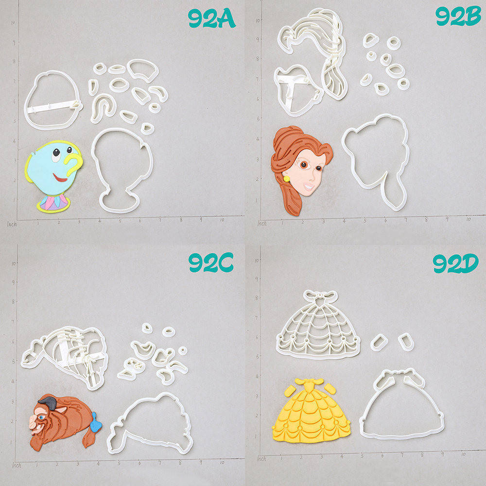 Buy Beauty And The Beast Mould And Get Free Shipping On Aliexpress Com
