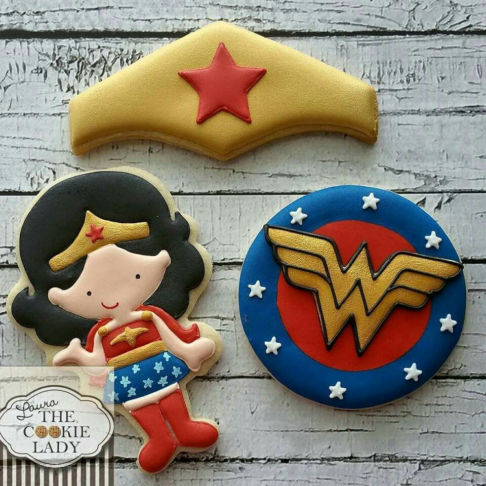 Laura The Cookie Lady  Wonder Woman  Adorable Set