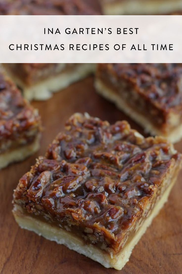 Ina Garten's Best Christmas Recipes Of All Time