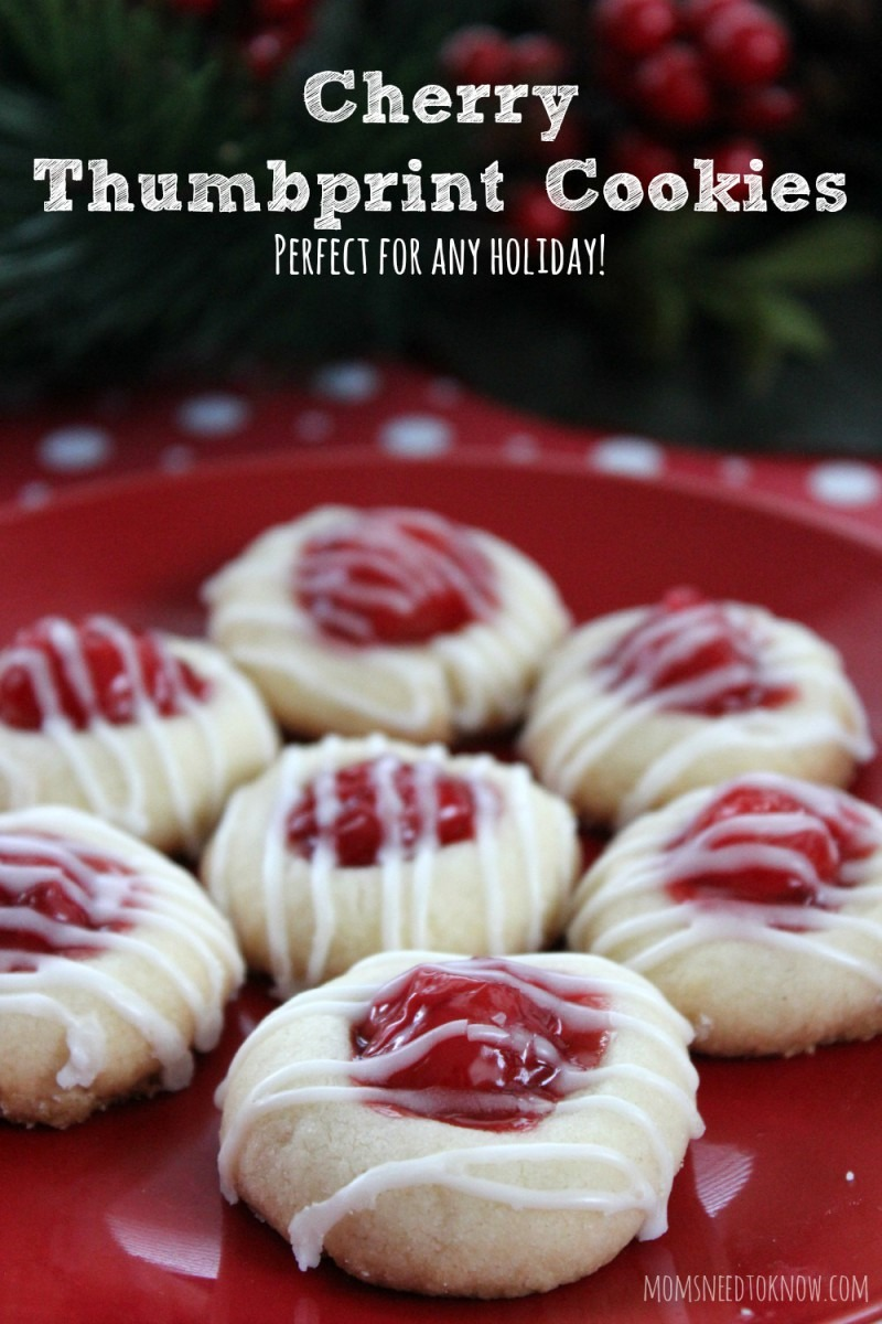 Cherry Thumbprint Cookie Recipe