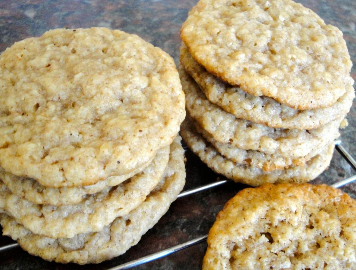 Carolynn's Recipe Box  Coconut Oatmeal Cookies
