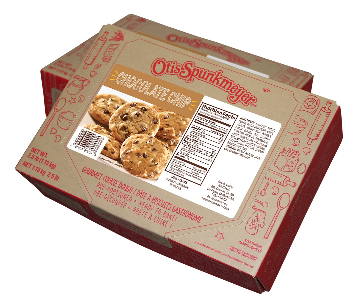 Otis Spunkmeyer Cookie Dough