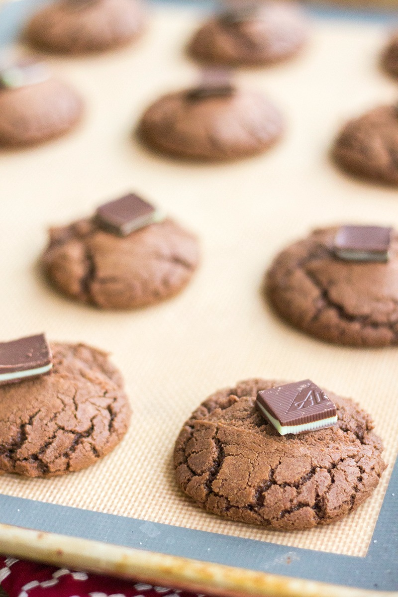 Chocolate Andes Mint Cookies • Bread Booze Bacon