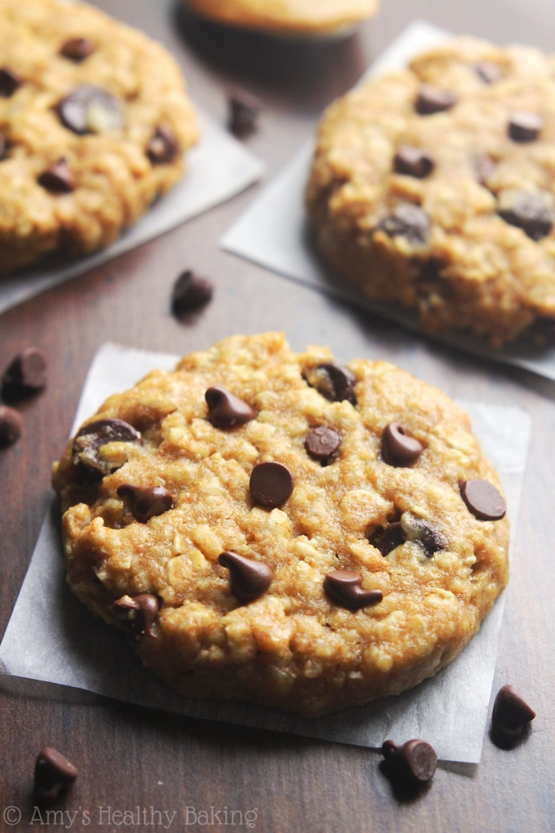 Chocolate Chip Peanut Butter Oatmeal Cookies {recipe Video