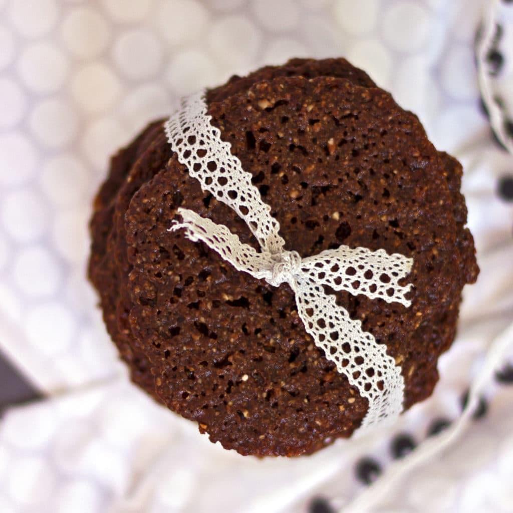 Chocolate Lace Cookies {grain Free, Gluten Free, Paleo}