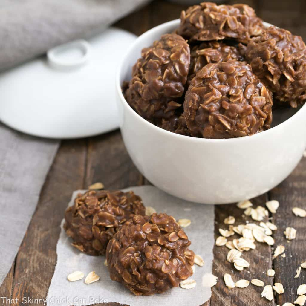 Classic Chocolate Peanut Butter No Bake Cookies