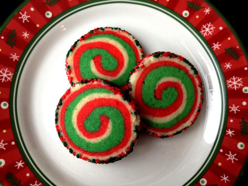 Twelve Days Of Christmas Cookies  Pinwheel Cookies