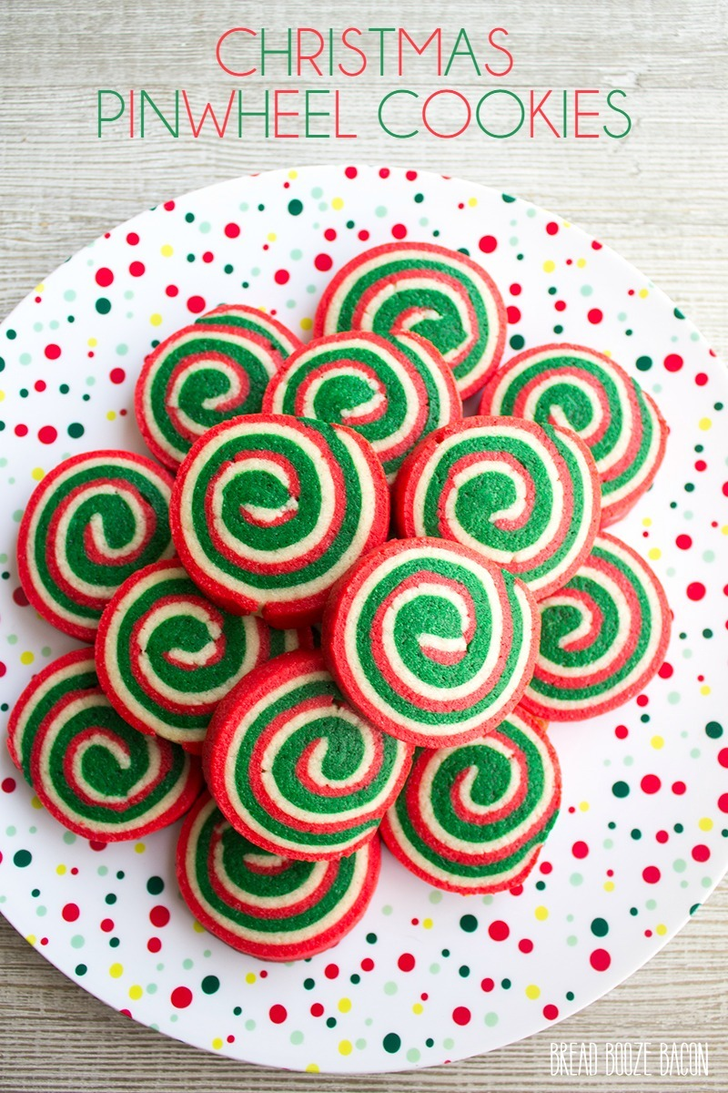 Christmas Pinwheel Cookies • Bread Booze Bacon