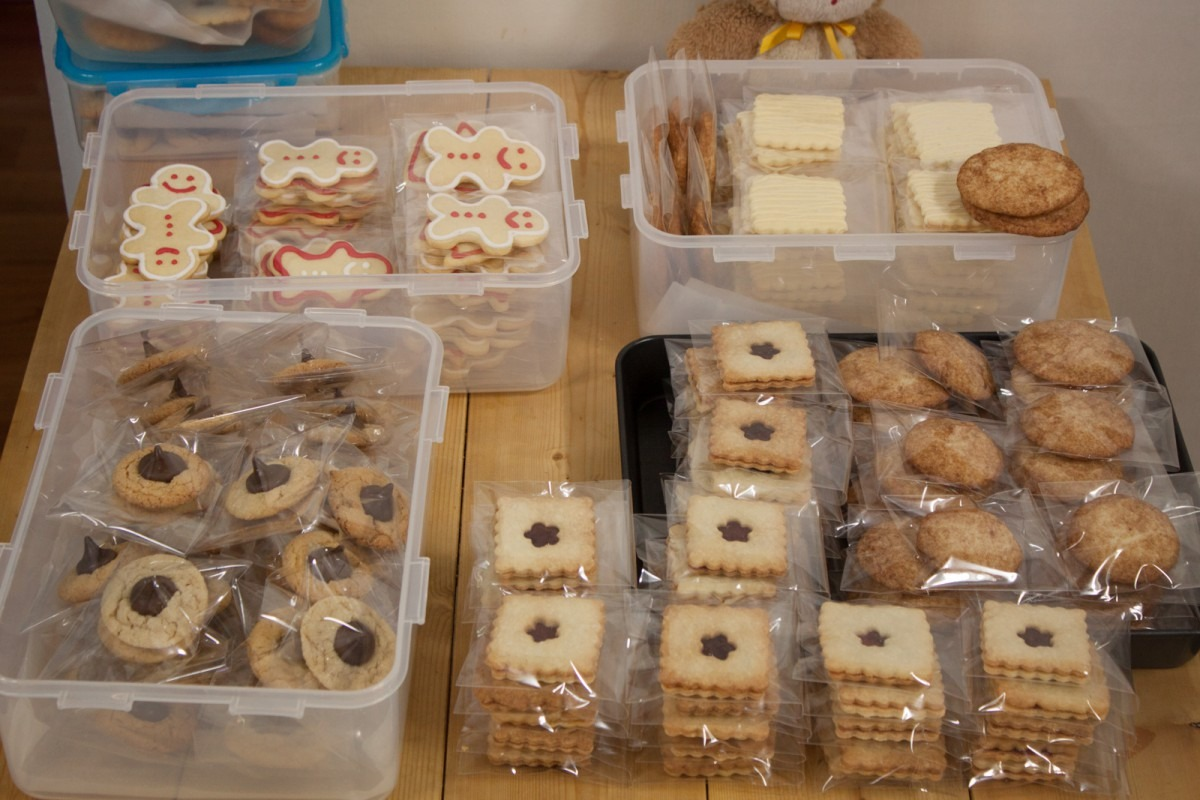 Our Christmas Cookie Sale! – Rae And Ben In Seoul
