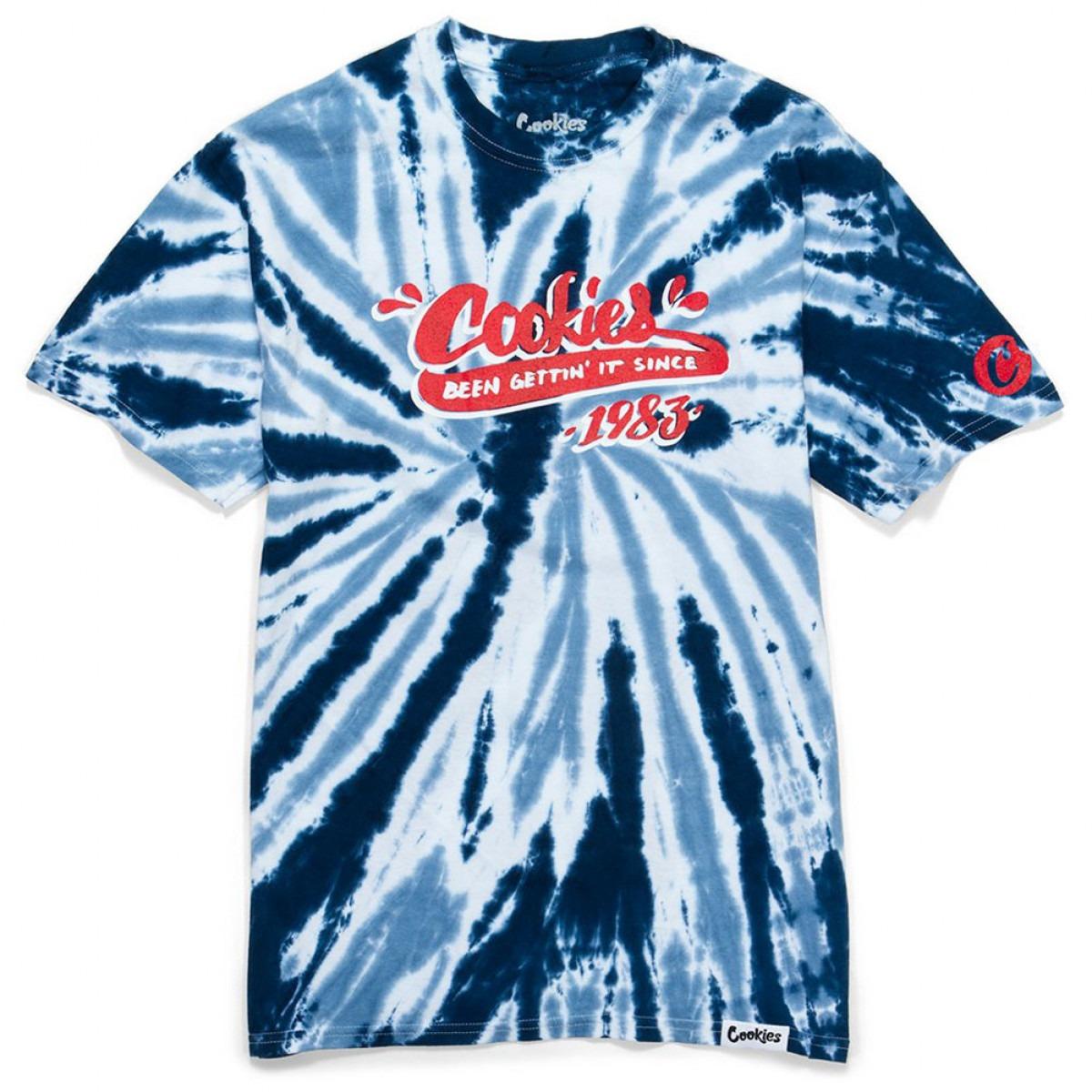 Been Getting It Tie Dye T Shirt Blue
