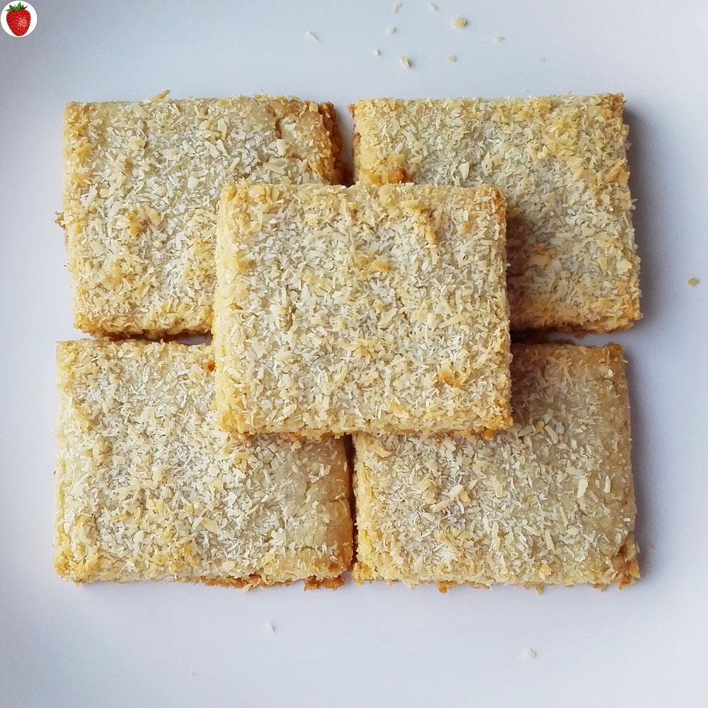 Crispy Coconut Cookies (vegan & Gluten