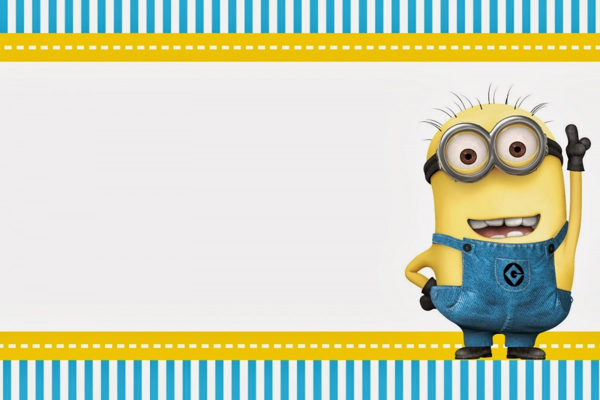 Despicable Me  Invitations And Party Free Printables