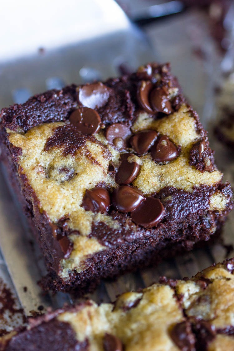 Chocolate Chip Cookie Brownies – Best Food Ideas