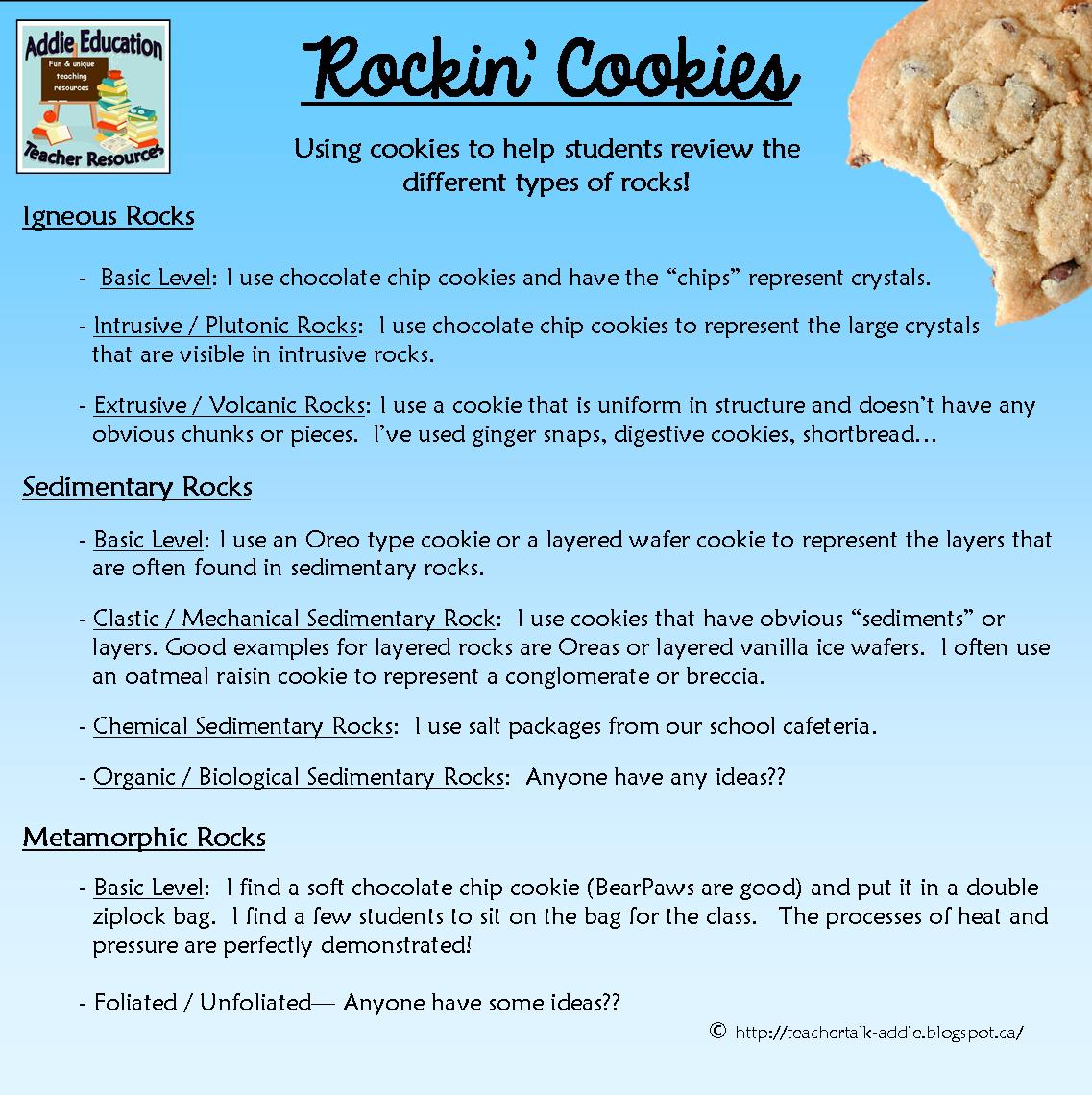 Using Cookies In Your Science Classroom