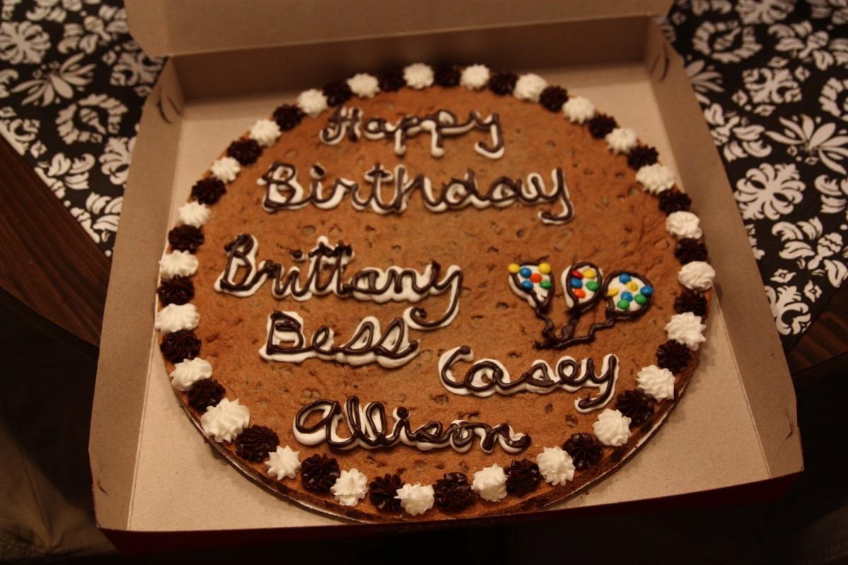 Very Virginia  A Cookie Cake & A 5k