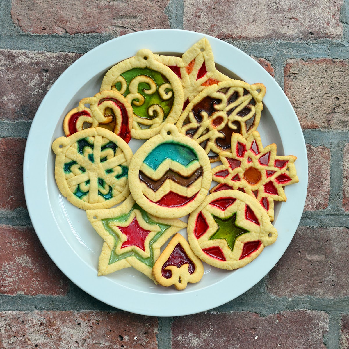 So, I Make Stuff  Stained Glass Cookies