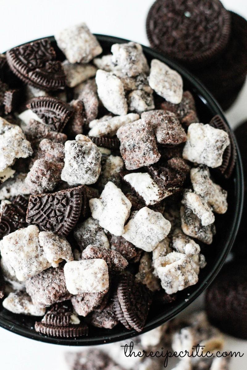 Cookies And Cream Muddy Buddies