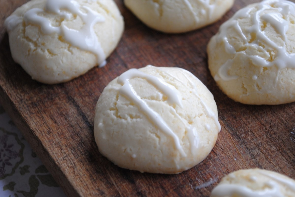 Condensed Milk Lemon Cookies