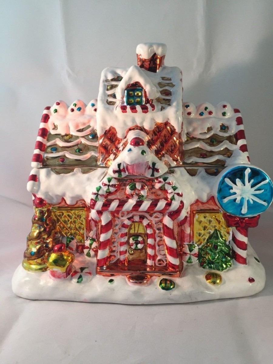 Davids Cookies Christmasngerbread House Cookie Jar Uncategorized
