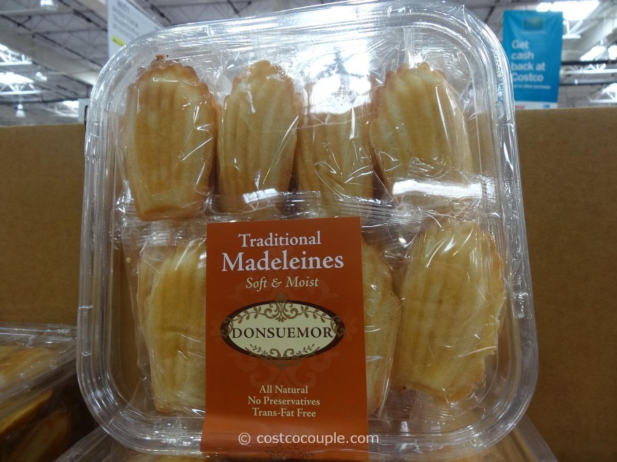 Donsuemor Traditional Madeleines