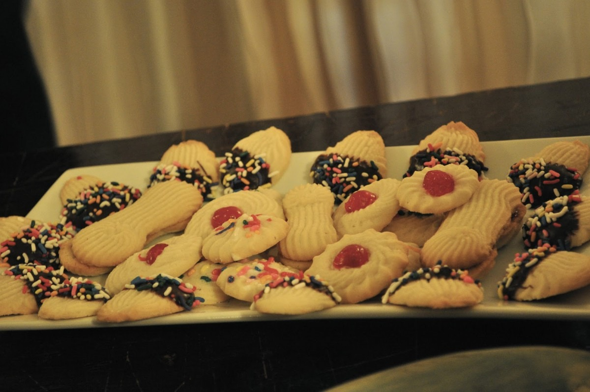 Our Italian Kitchen  Italian Butter Cookies
