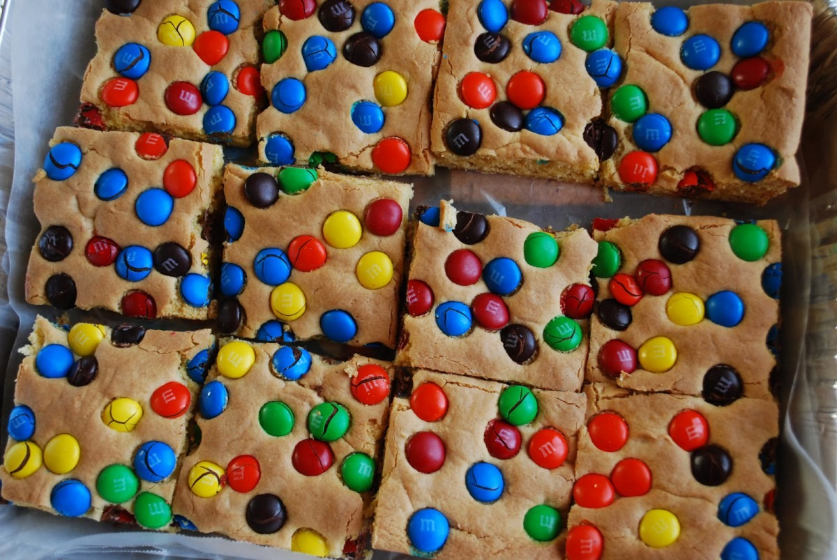 Amorris  Allie's Super Easy M&m® Cookie Bars