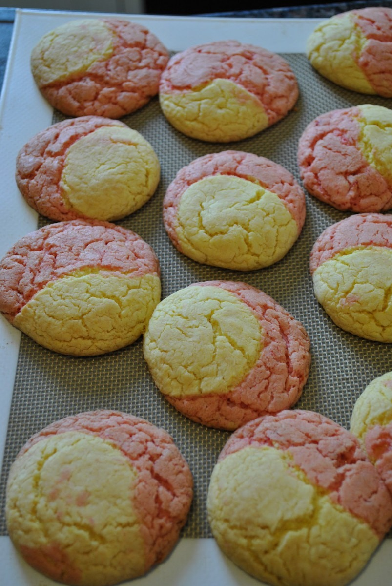 The Holcomb House  Strawberry Lemonade Cookies