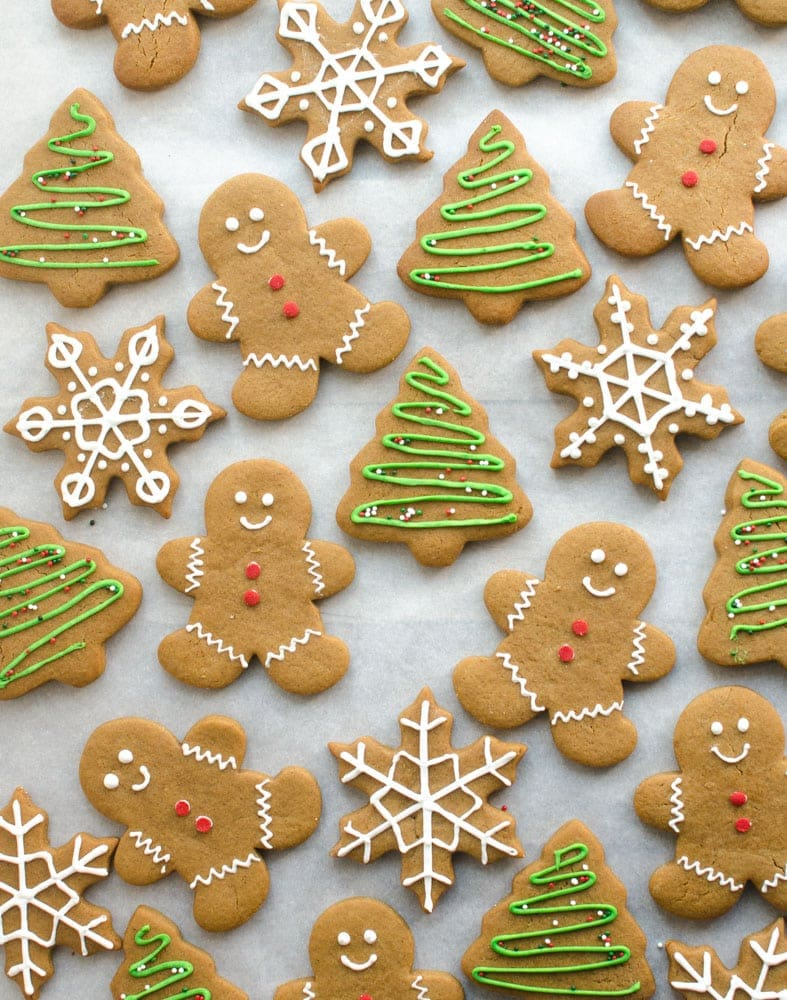 The Best Gingerbread Cookies Recipe For Holiday Decorating