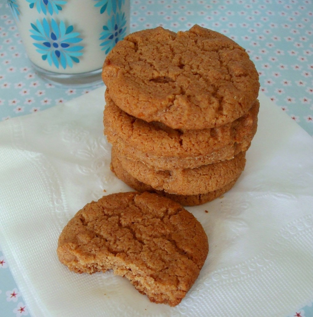 Gluten Free Flourless Almond Butter Cookies