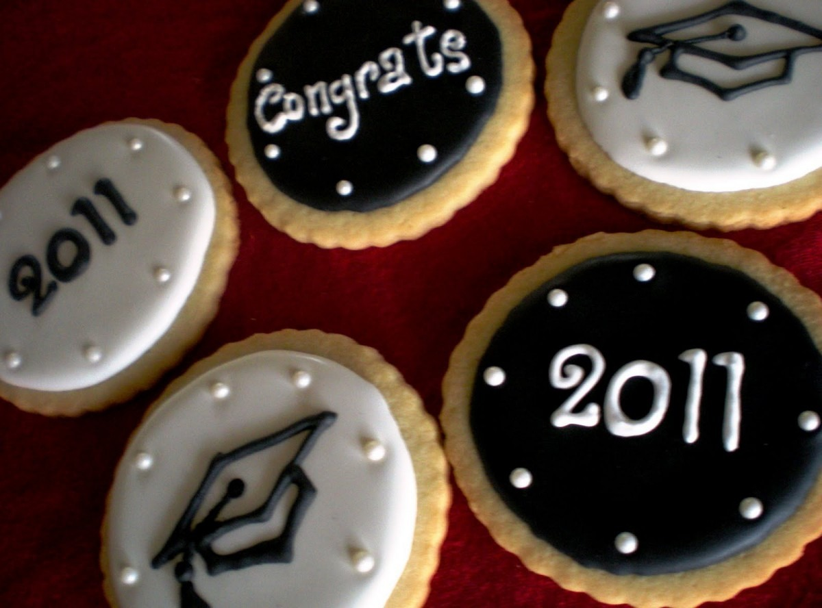 Sugar Lily  Graduation Cookies
