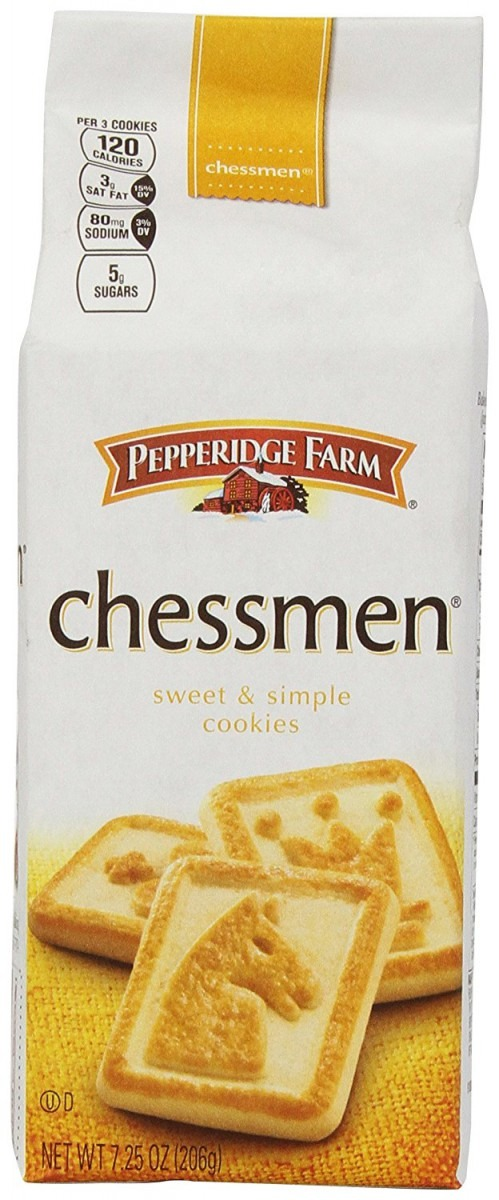 Butter Chessmen Cookies, 7 25