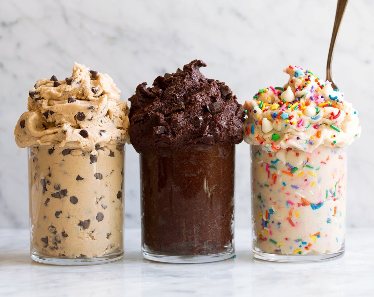 Edible Cookie Dough {3 Delicious Flavors}