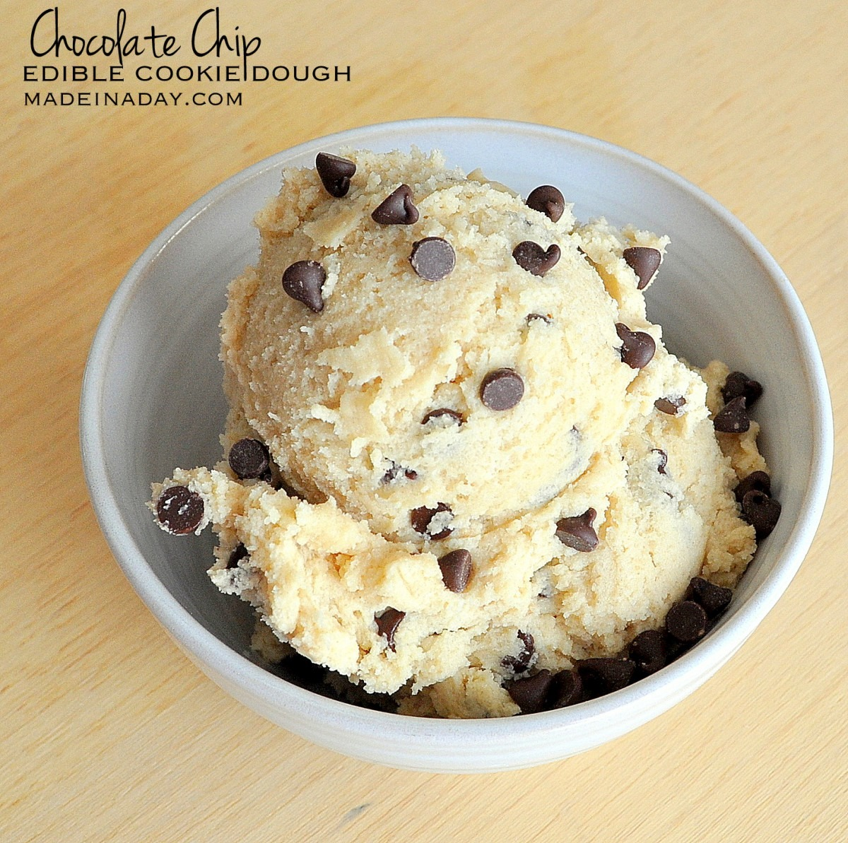 Single Serving Edible Cookie Dough