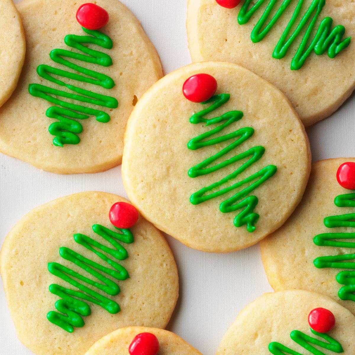 Holiday Sugar Cookies Recipe