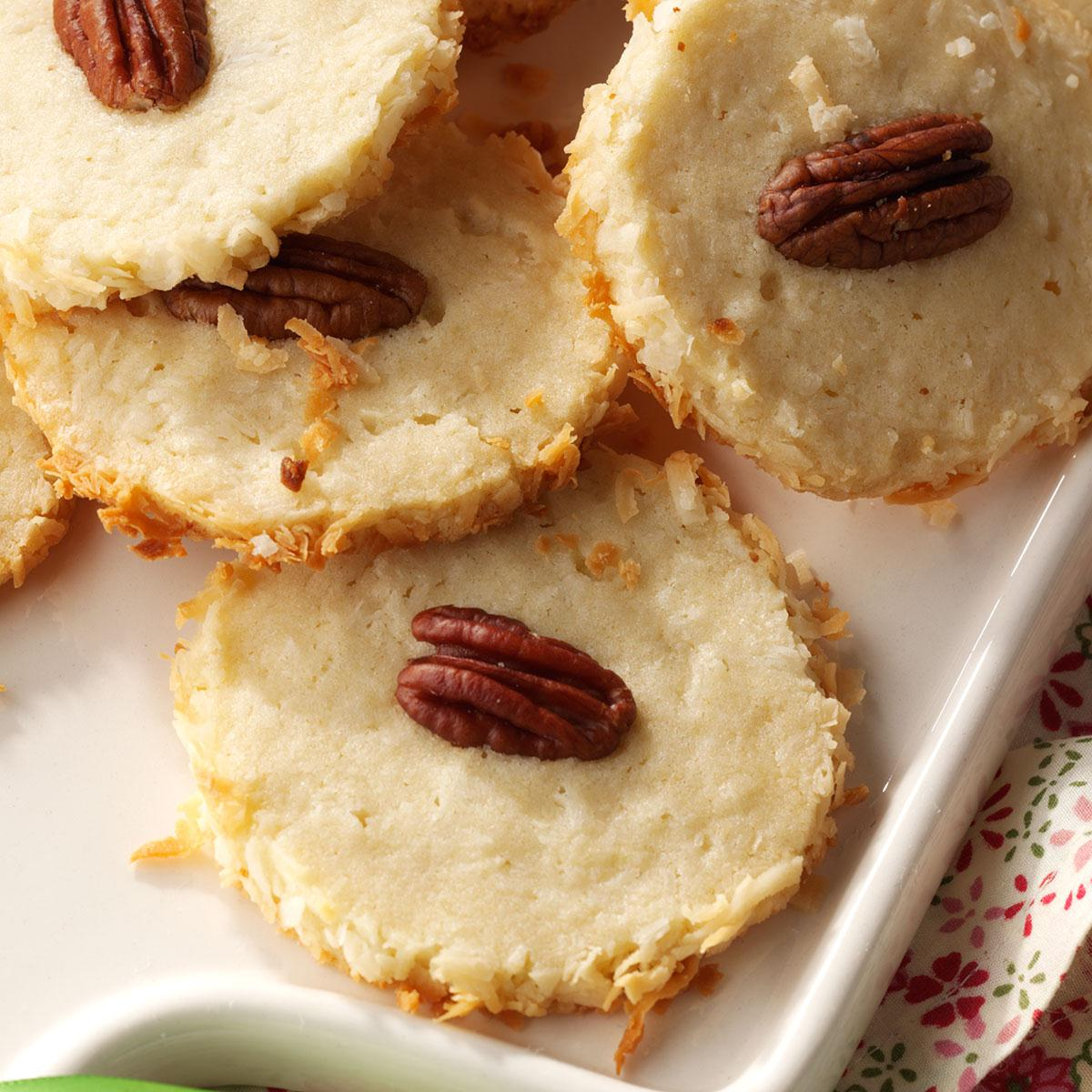 Best Coconut Pecan Cookies Recipe