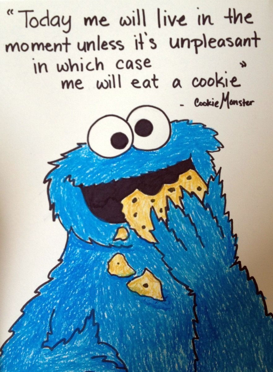 Cookie Monster Quote By Nadia354 Deviantart Com On @deviantart