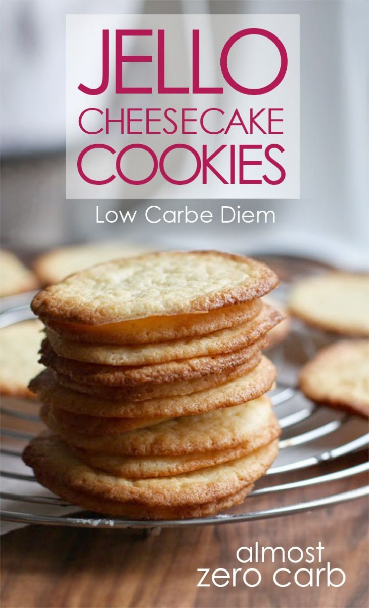 Crispy, Crunchy Almost Zero Carb Cookies  High In Healthy Fats