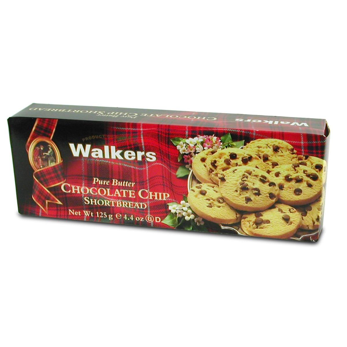 Walker Chocolate Chip Shortbread 4 4 Oz