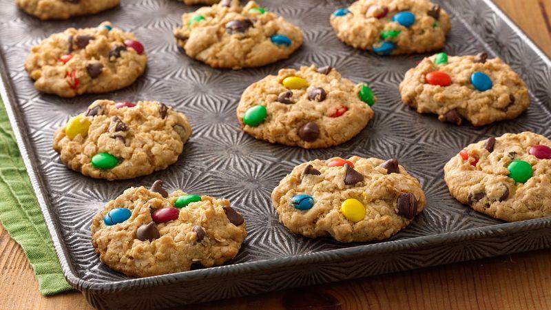 Sneaky Monster Cookies