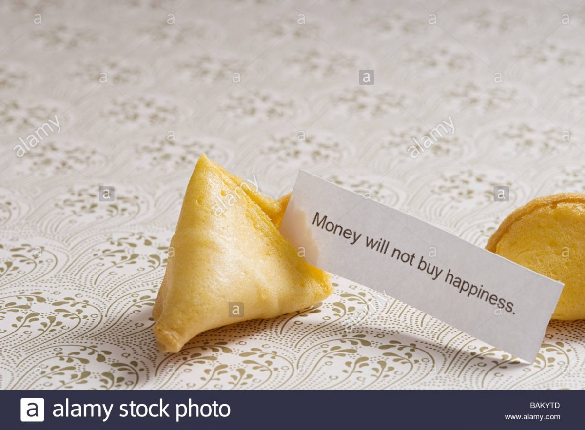 Fortune Cookie Message Stock Photos & Fortune Cookie Message Stock