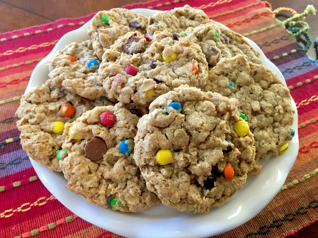 Chewy Peanut Butter Monster Cookies (flourless And Easily Gluten