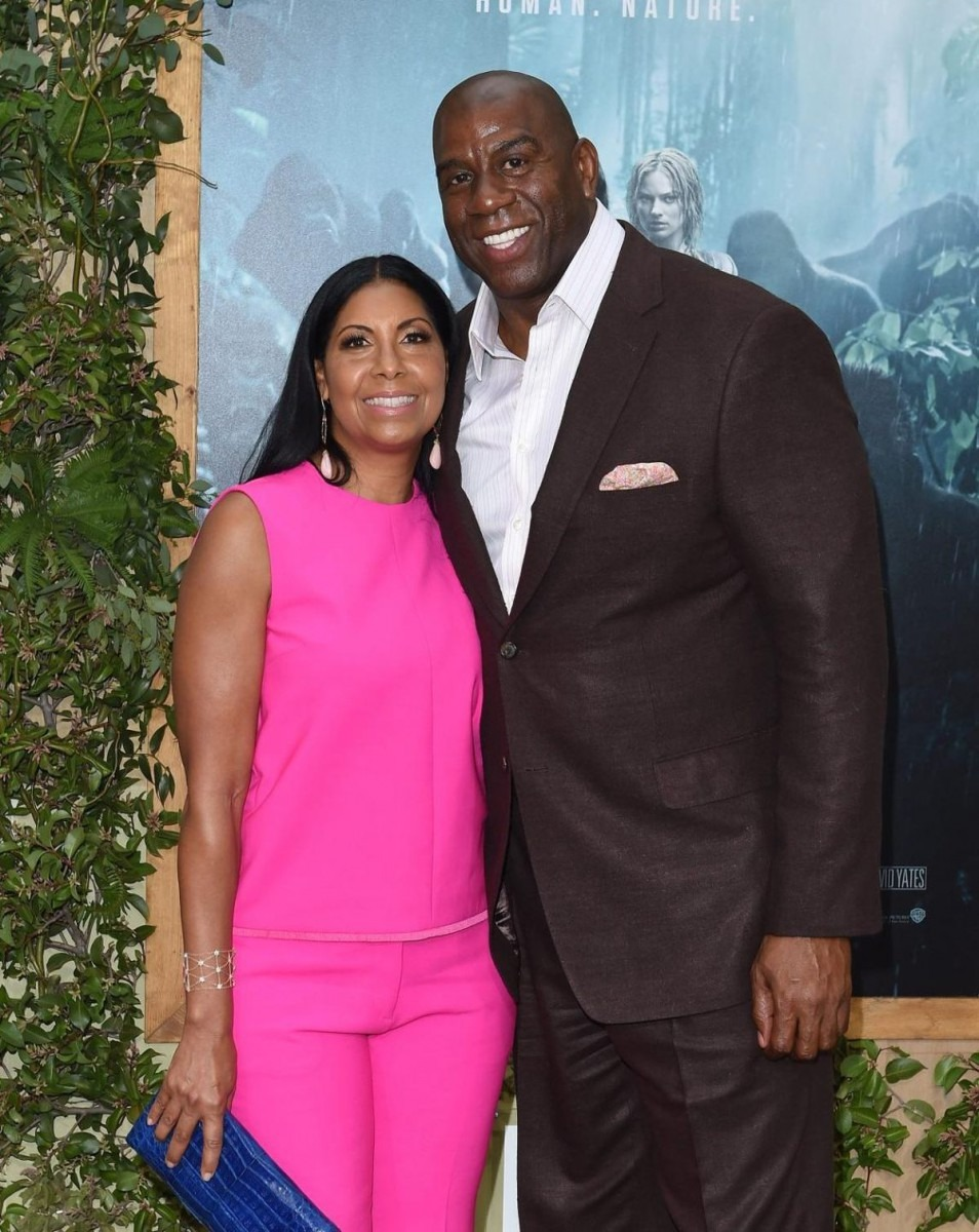 Cookie Johnson, Wife Of Magic Johnson Details Her Acceptance Of
