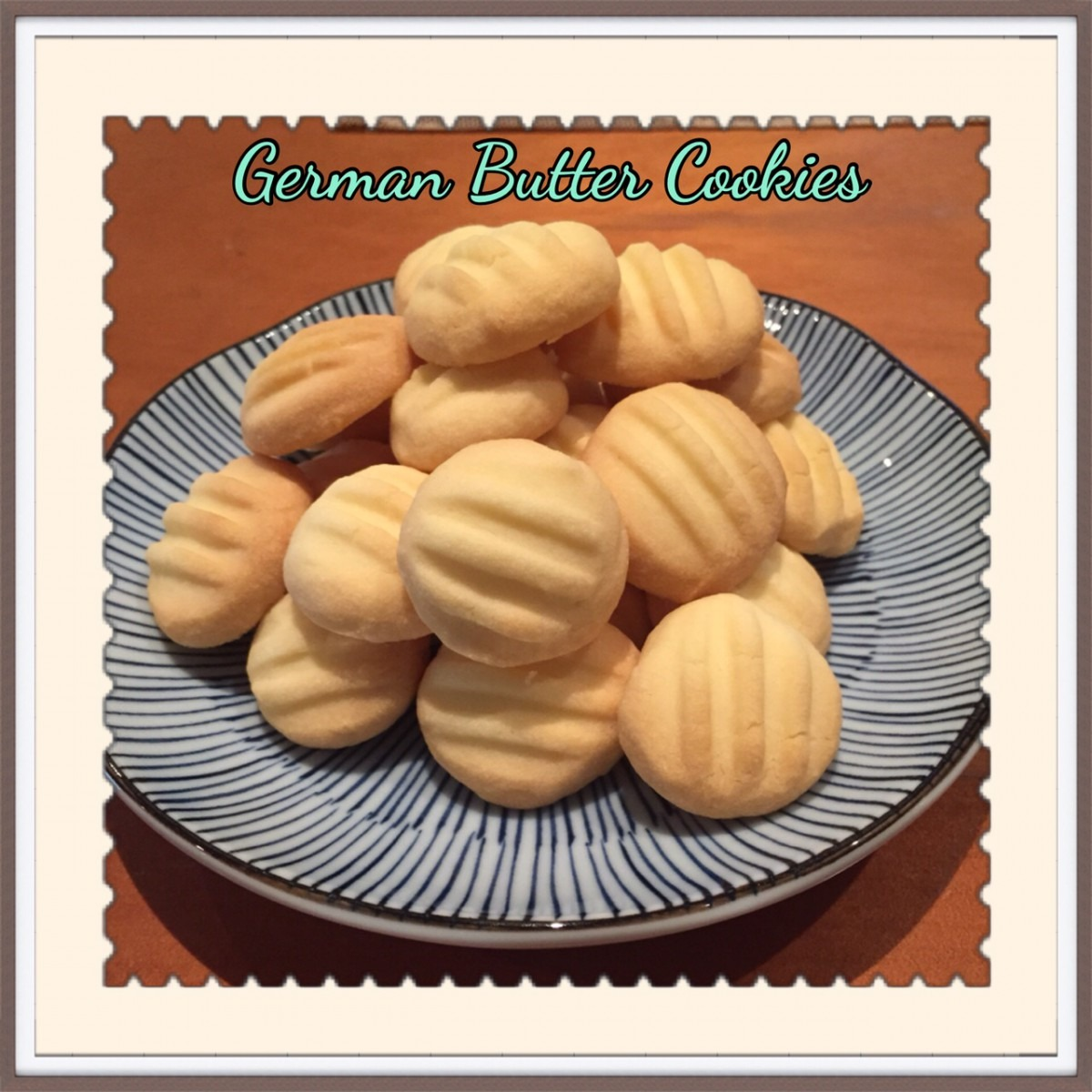 From Our Home  German Butter Cookies