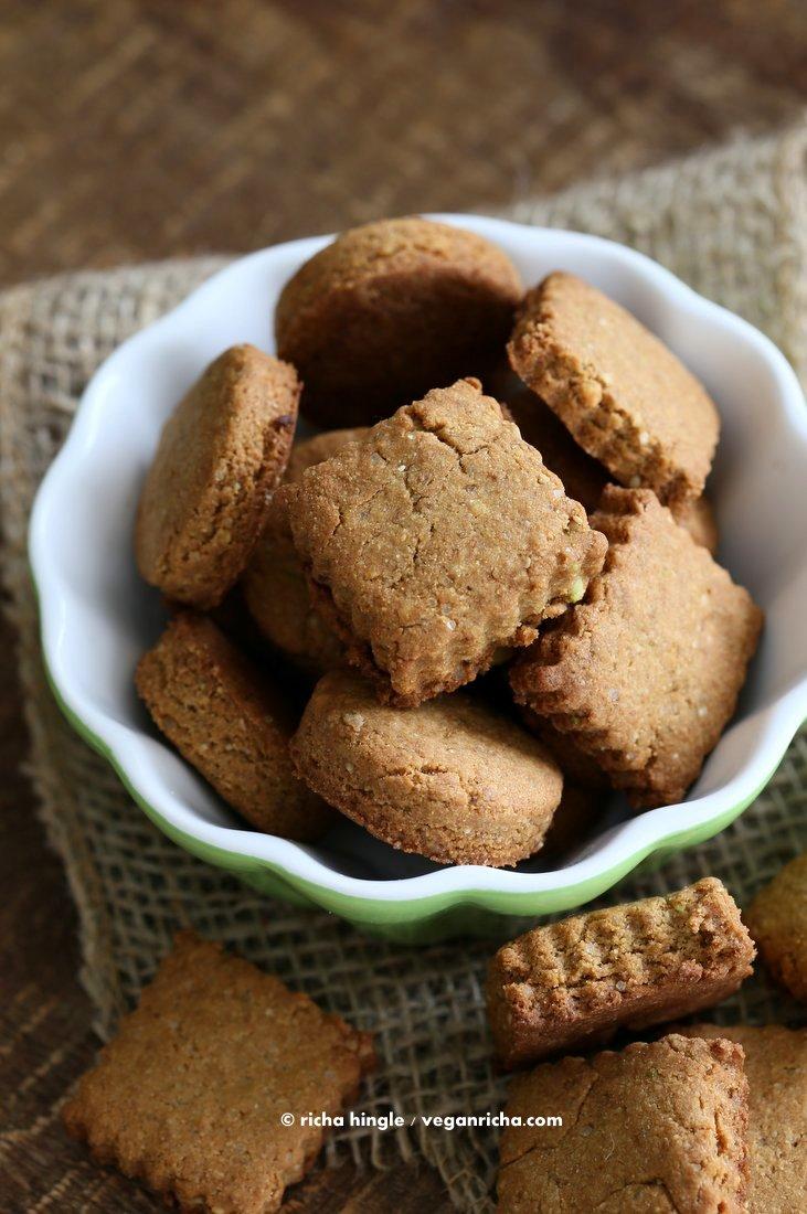 Vegan Gluten Free Shortbread Cookies
