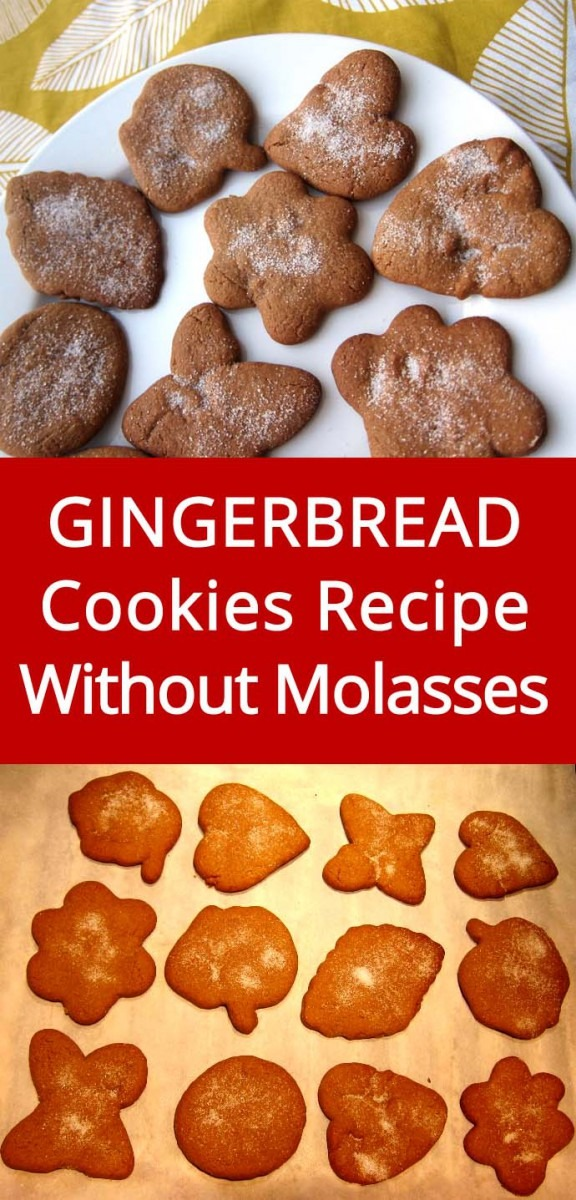 Easy Gingerbread Cookies Recipe Without Molasses – Melanie Cooks