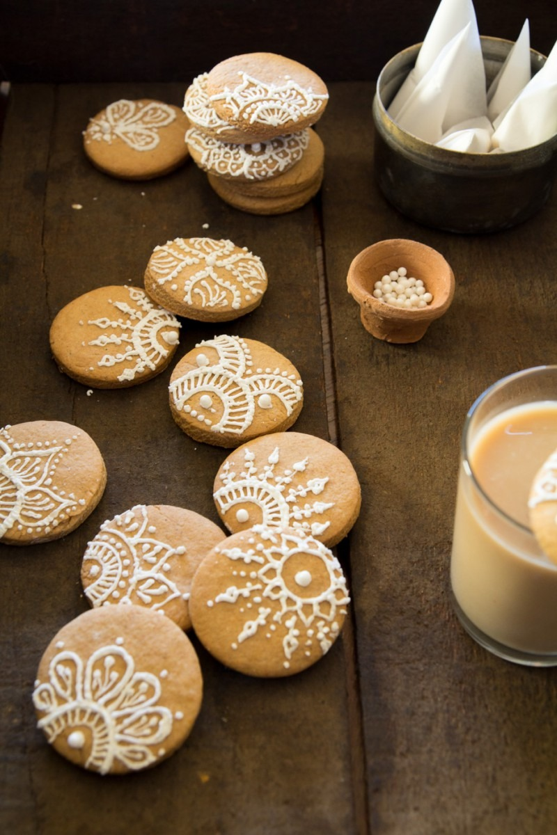 Ginger Chai Spice Cookies