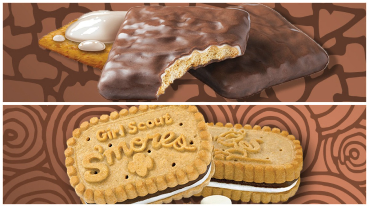 Girl Scouts Have S'more Cookies