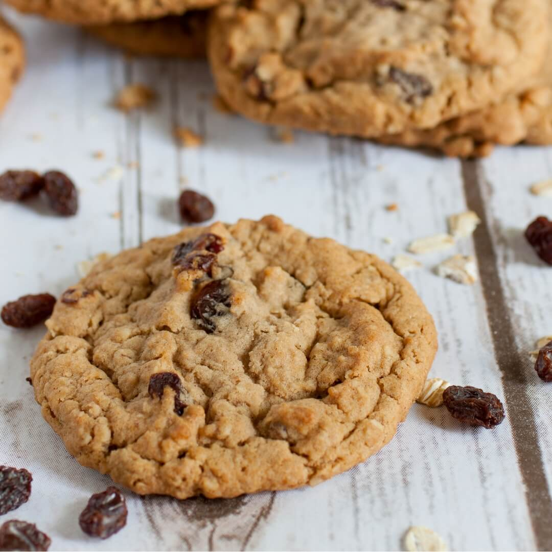 The Best Gluten Free & Vegan Oatmeal Cookie Recipe