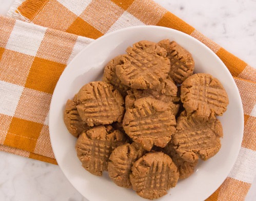Grain Free Pumpkin Peanut Butter Cookies