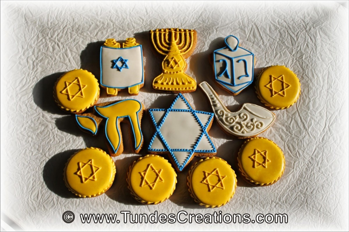 The Gingerbread Artist  Hanukkah Cookies